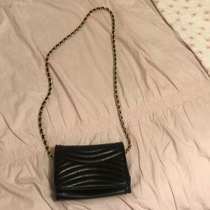 Black mini purse